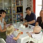 Katta, Emilia, Andreas, Lisa och Gustav